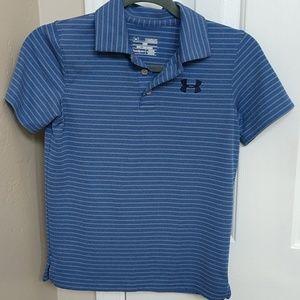 Under Armour boys golf shirts